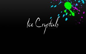 Wallpaper Ice Crystals 2
